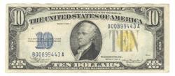 10 dollár 1934 A USA Észak Afrika 3.