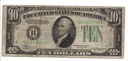 10 dollár 1934 A USA