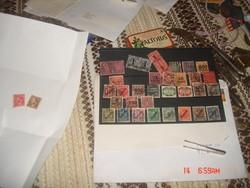 Bélyeg-Reich Dienstmarken 34 db