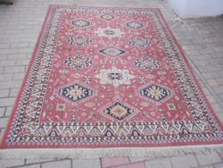 Kézi, perzsa szőnyeg. Dús virág mintás. Szakadás mentes, fotók szerinti állapotban.