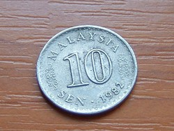 MALAYSIA MALAJZIA 10 SEN 1982