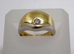 Köves pecsétgyűrű (ZAL-Au83049)