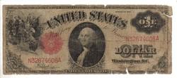 1 dollár 1917 USA