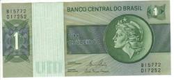 1 cruzeiro 1980 Brazilia UNC