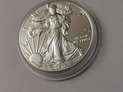 2016 USA sas ezüst érme 31,1 gramm 0,999