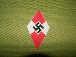 Eredeti Hitler júgend  felvarró.