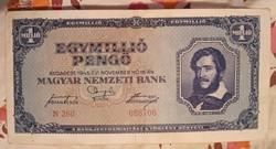 Egymillió pengő 1946..bankjegy
