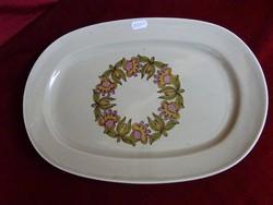 Német porcelán húsos tál. Mérete 36 x 25 cm.