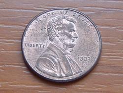 USA 1 CENT 2003  / D