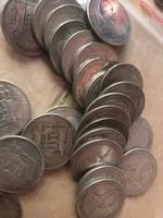 Horthy ezüst 5 pengő,25 gramm 0,640 100 db