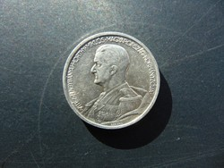 Horthy 5 pengő 1939  01  Szép ezüst