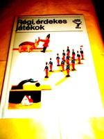 Kolibri könyv sorozatból :Régi érdekes játékok- Makulátlan állapotú ritkán előkerülő mű