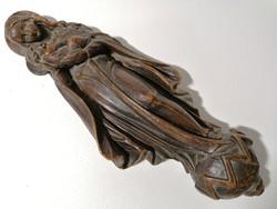 Nagy méretű viasz Szűz Mária és Kis Jézus szobor