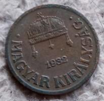 1 Fillér 1932.