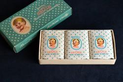 Caola Baeder szappan, 3 darabos, eredeti dobozában, csomagolva, gyűjtői, régi.