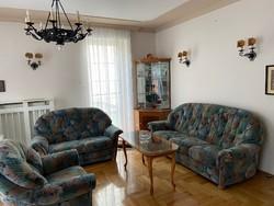 Kenyelmes kituno allapotu 3db-os teljes nappali garnitúra 3 személyes sofa+ 2 szemelyes sofa+ fotel