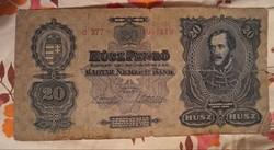 Húsz Pengő 1930.bankjegy