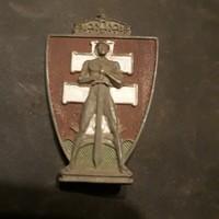 Magyar királyi honvéd hadiakadémia jelvény