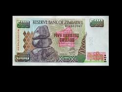 UNC - ZIMBABWE - 500 DOLLÁR - 2004