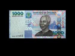 UNC - TANZÁNIA - 1000 SHILINGI - 2006