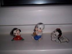 3 kis kínai gyerekfigura