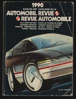 1990 Automobil Revue - Svájci autókatalógus - hiánytalan. 640 oldal