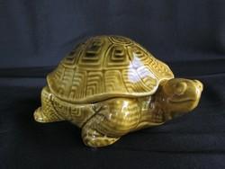 Kerámia teknős bonbonier vagy ékszertartó
