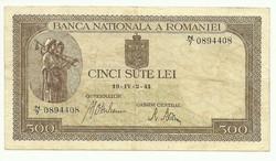 500 lei 1941 Románia