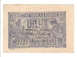 1 leu 1915 Románia aUNC