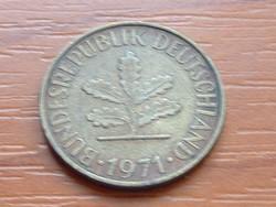 NÉMET NSZK 10 PFENNIG 1971  G