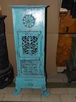 Ritka Szép Vintage kályha ritkaság Öntöttvas Kalán 1870 ből étel melegítős tűzhely vaskályha