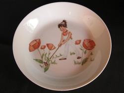Gyerek mese porcelán tányér