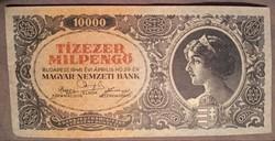 Szép Tízezer Milpengő 1946.bankjegy