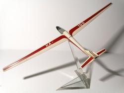 Magyar felségjelzésű HA-100 feliratú nagy méretű sikló repülő makett 60 cm (214)