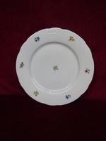 MZ Csehszlovák porcelán  süteményes tányér, átmérője 19,5 cm.