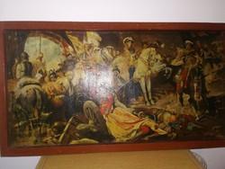 Leopold császár Törökök kiüzetése Budáról!