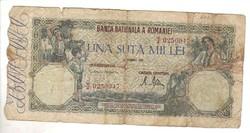 100000 lei 1946 Románia 1.