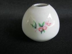Hollóházi porcelán mini váza