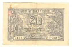 2 lei 1920 Románia 1.