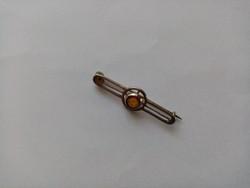 B44 - Fémjelzett 925 ezüst kitűző bross