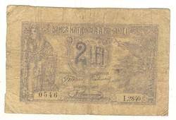 2 lei 1920 Románia 2.