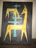 Falikép kerámia