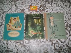 Ifjúsági könyv - három darab - 1960, 1964, 1965