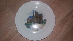 Francia suvenier/ porcelán tányér