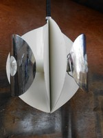 Bauhaus, alumínium csillár, krómozással, 3 ágú. 1970-es évek.Egyedi, stílusos darab.