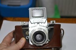 Régi exa fényképezőgép