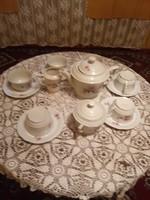 Zsolnay,manófüles teás készlet.