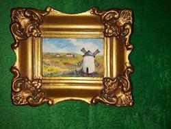 Miniatűr festmény eladó