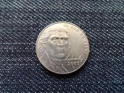 USA 5 Cents Jefferson nikkel Monticello 2007 D / id 15493/