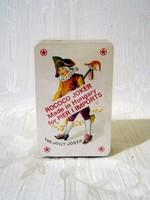 Nagyon régi ROCOCO JOKER Made in Hungary mini francia kártya bontatlan csomagolásban